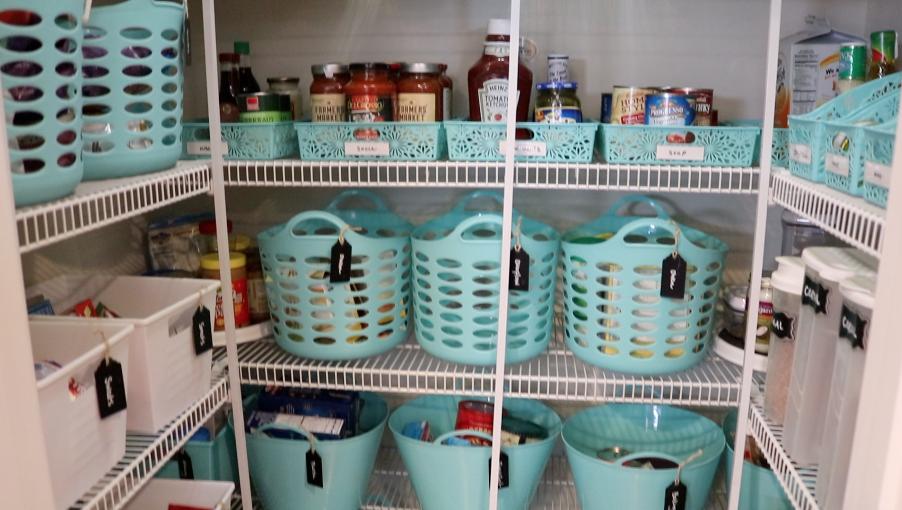 Laundry Room Organization Bins