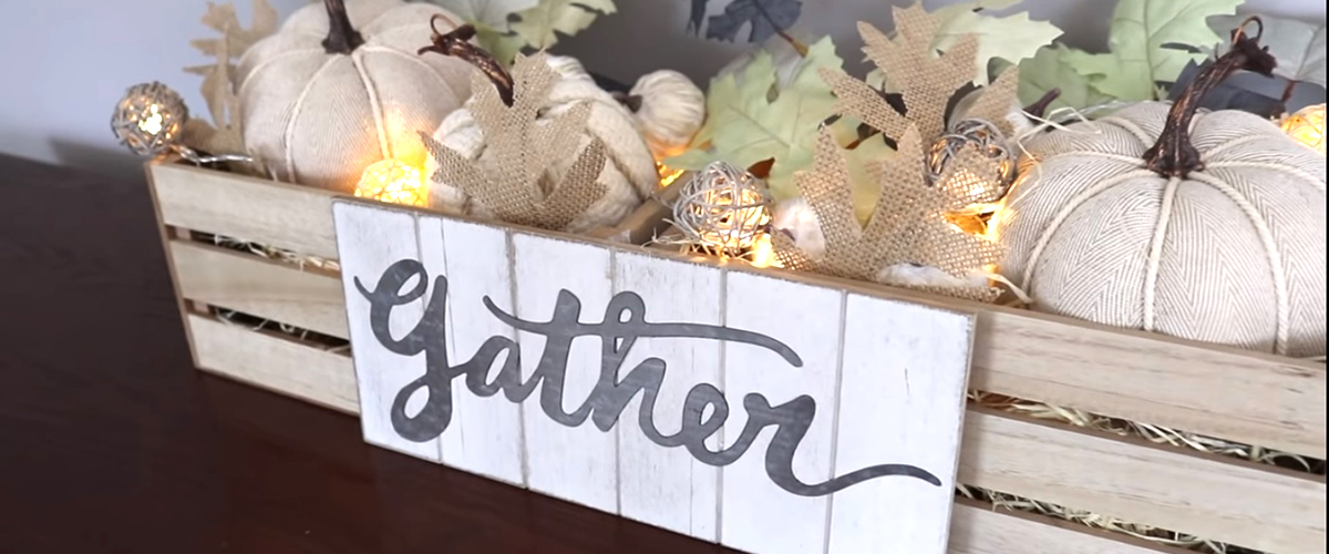 DOLLAR TREE & TARGET DOLLAR SPOT | Fall Farmhouse DIYs + decorate with me!