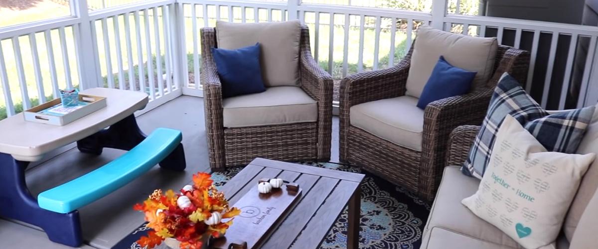 CLEARANCE, UPCYCLED & DOLLAR TREE PORCH MAKEOVER