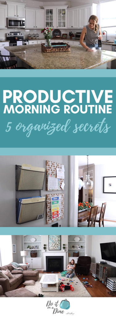 PRODUCTIVE FALL MORNING ROUTINE | our 5 organized secrets